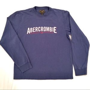 Abercrombie Men's Medium Blue Shirt